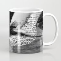 heels Mugs featuring Diamond Heels by Tasha Saussey