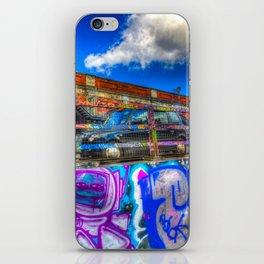 Leake Street and London Taxi iPhone Skin