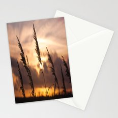 Sunset Night  Stationery Cards