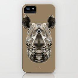 Rhino Sym iPhone Case