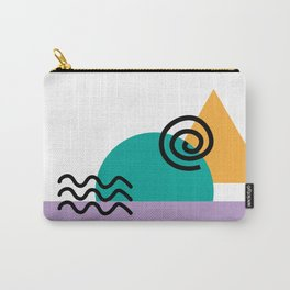 deconstructed spiral sunset Carry-All Pouch