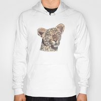 leopard Hoodies featuring leopard by becbugs