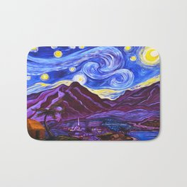 Maui Starry Night Bath Mat