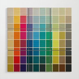 Colorful Soul - All colors together Wood Wall Art