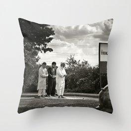 Services Throw Pillow