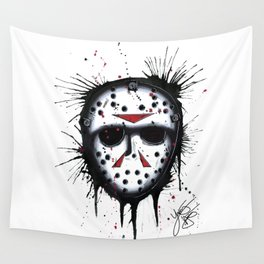 The Horror of Jason Wall Tapestry