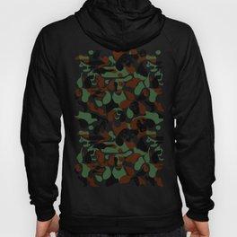 Dachshund  Camouflage Hoody