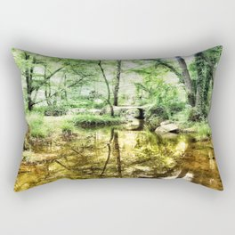 Forest of Youth Rectangular Pillow