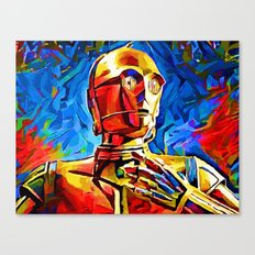 C3P0 Canvas Print