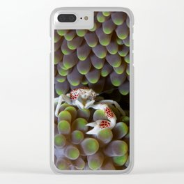 One-armed warrior Clear iPhone Case
