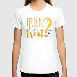 Trick Or Treat? | Glitter T-shirt