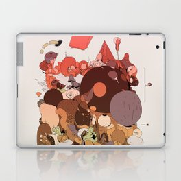 organic infographics Laptop & iPad Skin