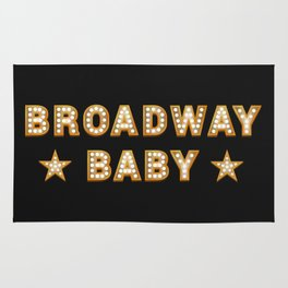 Broadway Baby! Rug