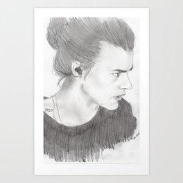 harry styles Art Print