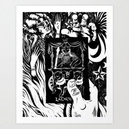 La Carroza Art Print