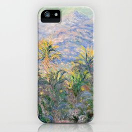 Claude Monet Palm Trees at Bordighera iPhone Case