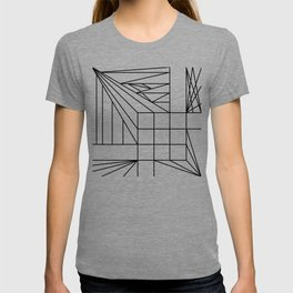 3D abstract geometry T-shirt