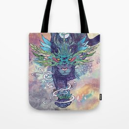 Spectral Cat Tote Bag