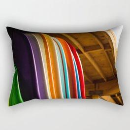 Surf Boards Rectangular Pillow