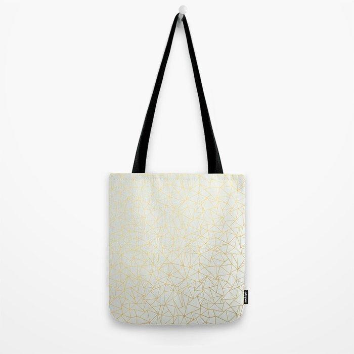 Geo Gold Tote Bag