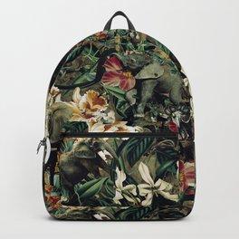 Elephants Camouflage Backpack