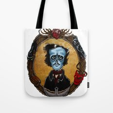 Poe in Color (variant) Tote Bag