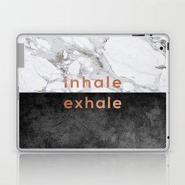 Inhale Exhale Copper Laptop & iPad Skin