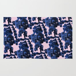 Orchid Print Rug