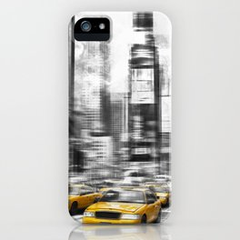 Modern Art TIMES SQUARE iPhone Case