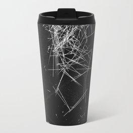 Brush Dust Heart Symbol Travel Mug