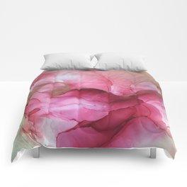 Fluid Rose Comforters