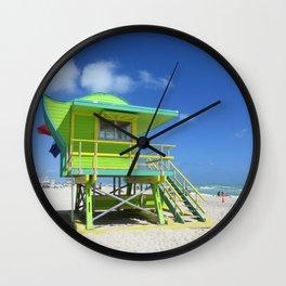 Lifeguard 1 Wall Clock