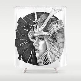 samurai passion Shower Curtain