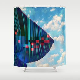 android X-ray Shower Curtain