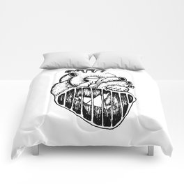 A caged bird Comforters