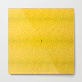 Splashy Lemon Metal Print