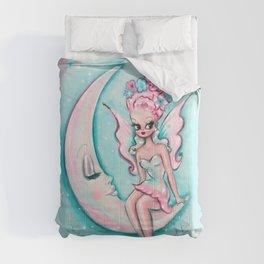 Fairy on the Moon Comforters