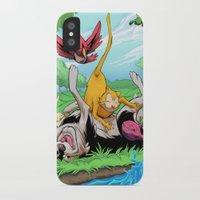 leah flores iPhone & iPod Cases featuring Leah by Esau Figueroa