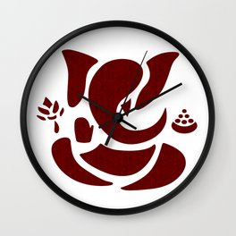 Ganapati - The Obstacles Remover Wall Clock