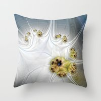 diver Throw Pillows featuring Diver by Shalisa Photography