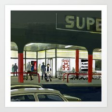 Superlight Art Print