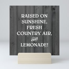 RAISED ON... LEMONADE! Mini Art Print