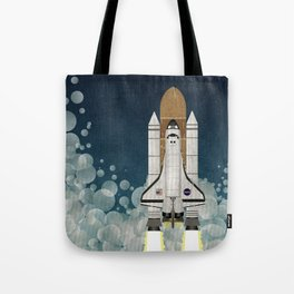 Space Shuttle NASA Launch Tote Bag