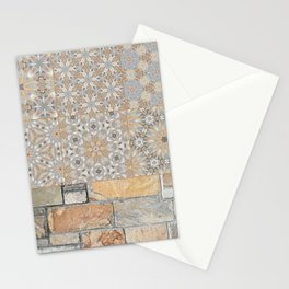 The Alamo Wall Collage 6396 Stationery Cards