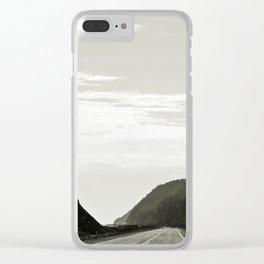 Haute-Gaspesie Coastal Road Clear iPhone Case