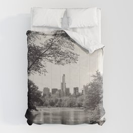Central Park from Bow's Bridge Comforters