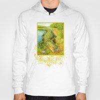 crocodile Hoodies featuring Crocodile by Natalie Berman