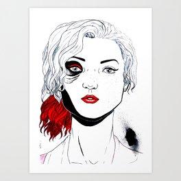 Bionic Girl Art Print