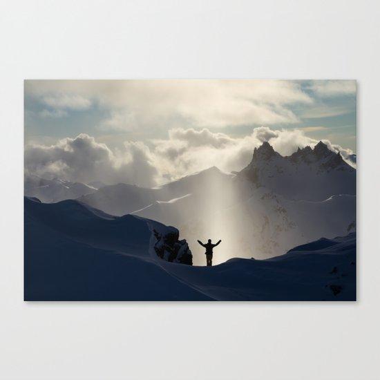 Alpine Praise #1 Canvas Print