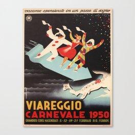 Vintage poster - Viareggio Canvas Print